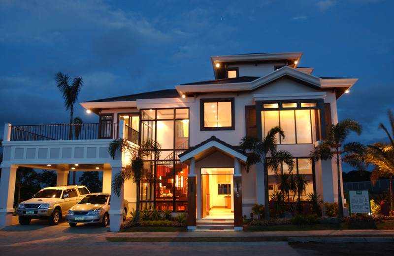 Bali mansions south forbes golf city for Asian houses photos